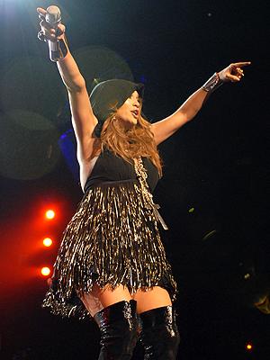 Jennifer Lopez en concierto en Los Angeles