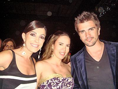Kika Rocha, Paola Pacheco y Juanes