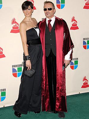 Miguel Bosé y Bimba Bosé