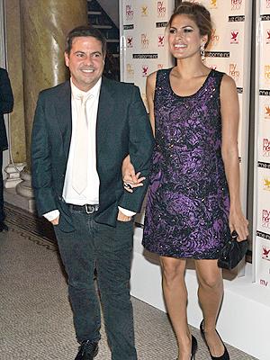 Narciso Rodriguez y Eva Mendes