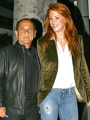 Joe Pesci y Angie Everhart