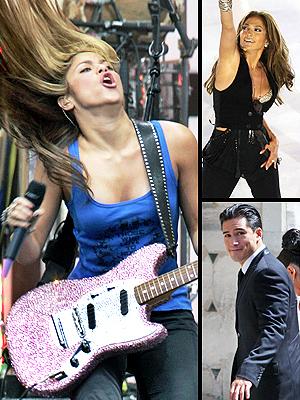 principal Shakira, Ricky Martin, Christina Aguilera