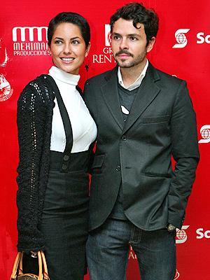 Bárbara Mori y José María Torres