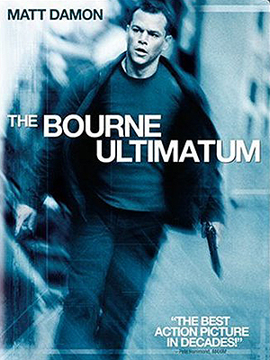 Bourne Ultimatum DVD movie