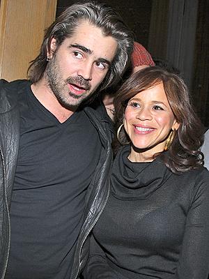 Colin Farrell y Rosie Perez