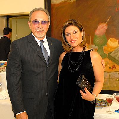 Emilio Estefan y Teresa Rodriguez