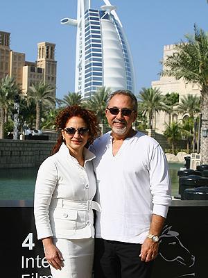 Gloria Estefan y Emilio Estefan
