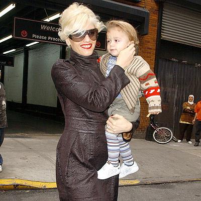 Gwen Stefani con hijo Kingston