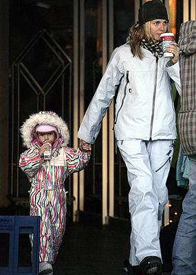 Heidi Klum con Leni