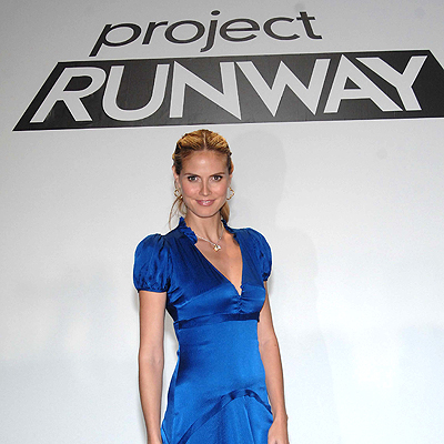 Project Runway TV show: Heidi Klum