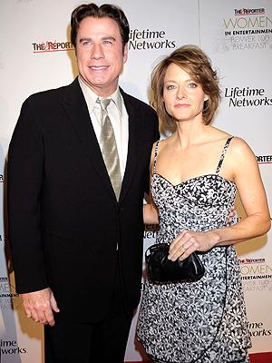 John Travolta y Jodie Foster