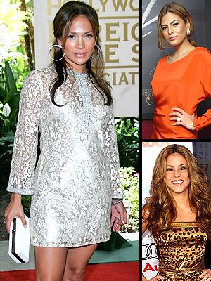principal Looks of the year: Jennifer Lopez, Eva Mendes, Shakira