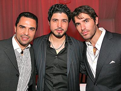 Manny Perez y Eduardo Verastegui