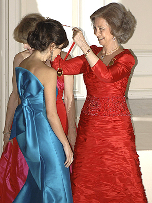 Penelope Cruz y Reina Sofia
