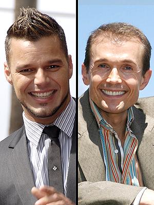 Ricky Martin y Ole Henriksen