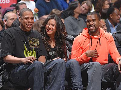 Jay-Z, Beyonce y Kanye West