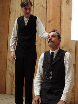 Paul Dano & Daniel Day-Lewis, There Will Be Blood