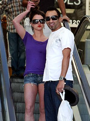 Britney Spears y Adnan Ghalib