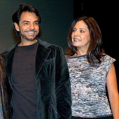 Eugenio Derbez y Silvia Eugenia Derbez