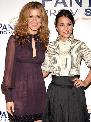 Jaydy Mitchell y Paula Echevarria