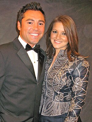 Oscar De La Hoya Amp Millie Corretjer Welcome A Daughter