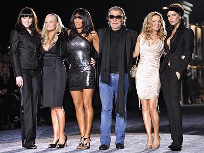 Spice Girls y Roberto Cavalli