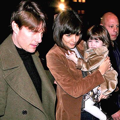 Tom Cruise, Katie Holmes y Suri Cruise