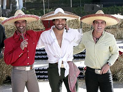 Pablo Montero y Eduardo Yanez