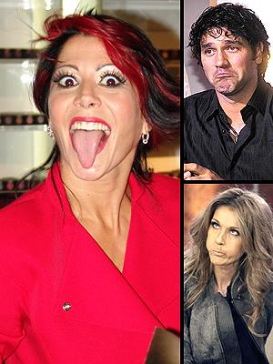 principal Wacky Faces: Alejandra Guzman, Valentino, Celine