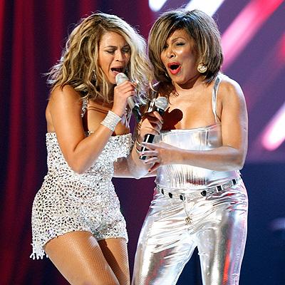 Beyonce y Tina Turner