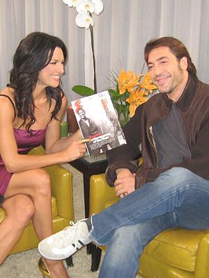 principal Candela Ferro y Javier Bardem