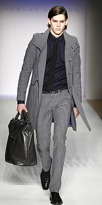 Carlos Campos fashion show model