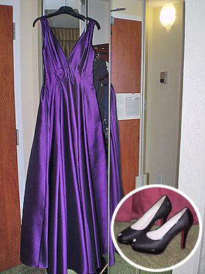 Chenoa dress y shoes