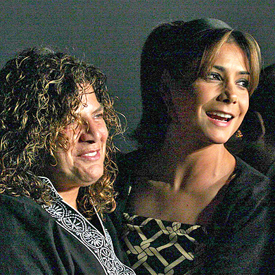 Denise de Kalafe y Paty Manterola