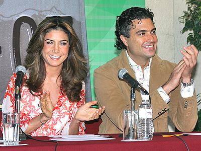 Jaime Camil con Paty Manterola