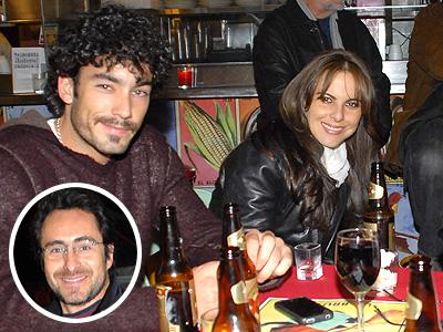 Kate del Castillo con Aaron Diaz y Demian Bichir