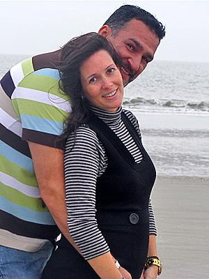 Kike Santander y Adriana Lopez Moreira Bo