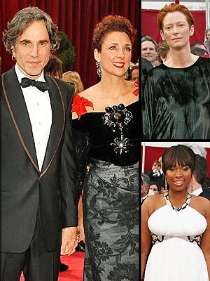 principal Oscar Worst: Daniel Day Lewis, Tilda Swinton y Jennifer Hudson