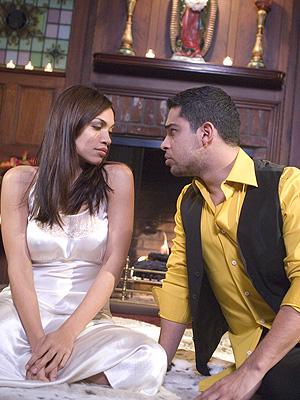 Wilmer y Rosario Dawson