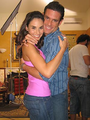 Ana Serradilla y Bernie Paz