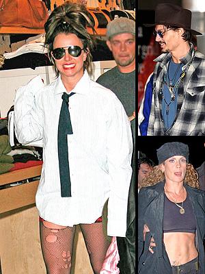principal Fachosos: Britney Spears, Johnny Depp y Niurka