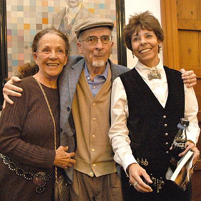 Francisco Sanchez con Isela Vega y Lucy Orozco