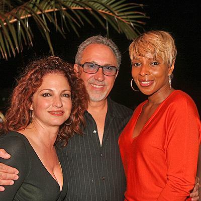 Gloria Estefan, Emilio Estefan y Mary J Blige