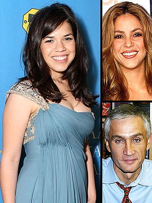 principal Influyentes: America Ferrera, Shakira y Jorge Ramos