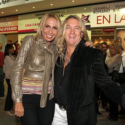 Laura Bozzo y Javier Ceriani