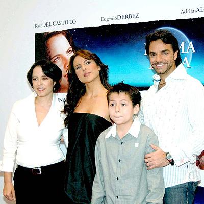 Kate del Castillo, Adrian Alonso y Eugenio Derbez