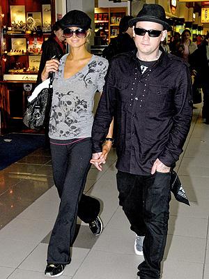 Paris Hilton y Benji Madden