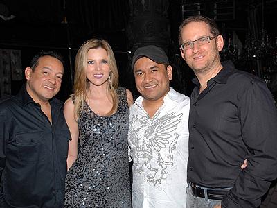Gustavo Puerta, Martiza Rodriguez, Oswaldo Pisfil y Joshua Mintz