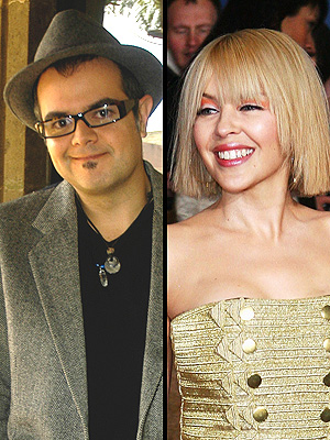 Aleks Syntek y Kylie Minogue
