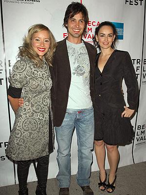 Ana de la Reguera con Angelica Blandon y Aldemar Correa